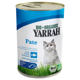 Yarrah blikvoeding voor de kat - paté  vis