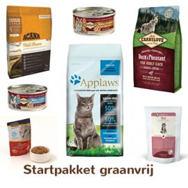 Startpakket graanvrij kattenvoer