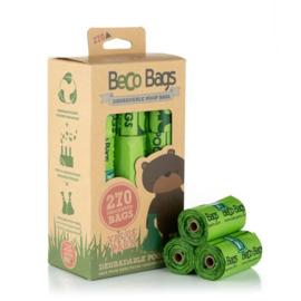 BecoBags biologisch afbreekbare poepzakjes per 16 rollen (270 stuks)