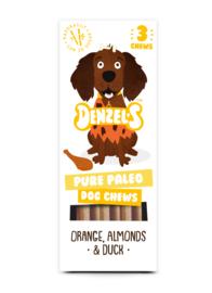 Denzel's Chews Paleo - Sinaasappel, Amandel en Eend