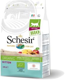 Schesir BIO kitten brokjes - 400 gram