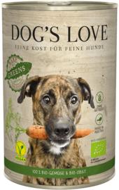 Dog's Love Green - vegan & bio - groentemix