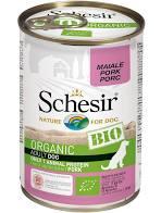 Schesir Hond BIO Adult varken blik 400 gram