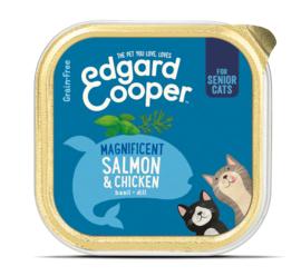 Edgard & Cooper Kat Kip & Zalm (senior kat)