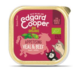 Edgard & Cooper Kat Biologische Kalf & Rund kuipjes