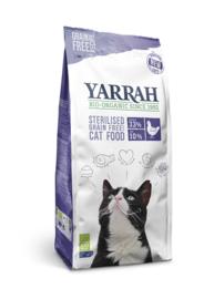 Yarrah sterilized graanvrij voor de kat