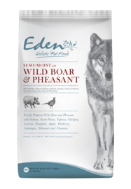 Eden Semi Moist Salmon, Wild Boar & Phaesent