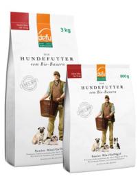 Defu Bio Hondenbrokken Senior Mini Gevogelte - 3 kilo - THT 17-9-2020
