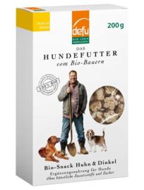 Defu Bio Hondensnack Huhn & Dinkel - Kip & Spelt