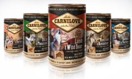Carnilove mixpakket blikvoeding hond 22 + 2 gratis