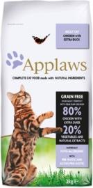 Applaws Graanvrije kattenbrokjes kip & eend
