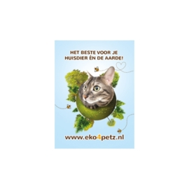 EKO4petz sticker kat