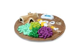 AFP Dig-It ronde snuffelmat met speeltje