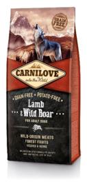 Carnilove Lamb & Wild Boar - lam en wild zwijn 12 kilo