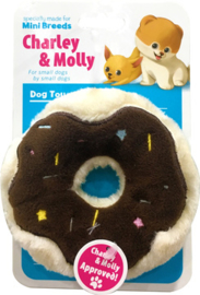 Charley and Molly Plush Donut