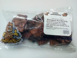 Bandit biologische Runderlong 100 gram