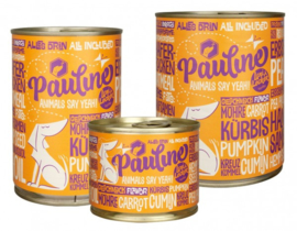 Pauline vegan blikvoeding hond