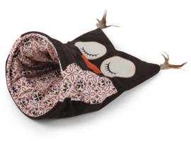 All For Paws Owl Cat Sack - kleur bruin