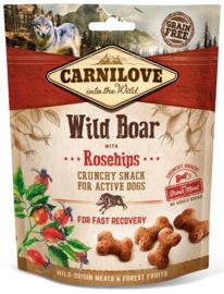 Carnilove hondensnacks Crunchy - Wild Zwijn
