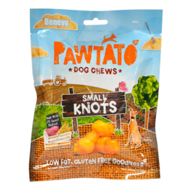 Benevo Pawtato Knots Small Yellow