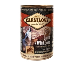 Carnilove blikvoeding Lam & Wild Zwijn
