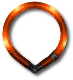 Leuchtie Mini lichthalsband Oranje