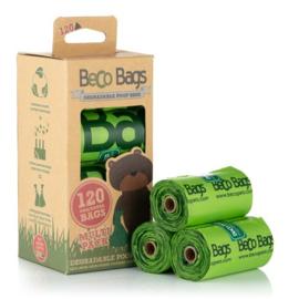 BecoBags biologisch afbreekbare poepzakjes per 8 rollen (120 stuks)