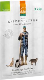 Defu Kattensnack - Bio Kauwstaafjes Kalkoen met rozemarijn