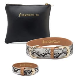 Friendshipcollar The Boutique Collection Scaled Black