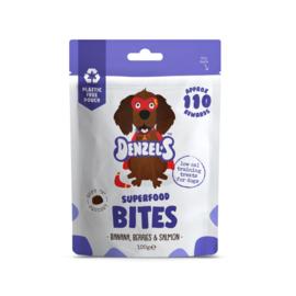 Denzel's Bites Superfoods - Banaan, Bes en Zalm