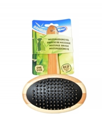 Duvo Bamboe massageborstel