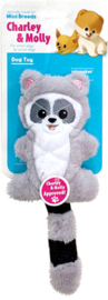 Charley and Molly Plush Racoon