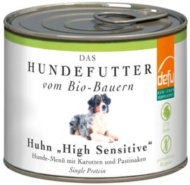 Defu High Sensitive Menu - Bio Kip met pastinaak - hond
