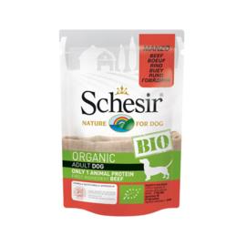 Schesir Hond BIO Adult - Rund zakje 85 gram