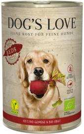 Dog's Love Red - vegan & bio - groentemix