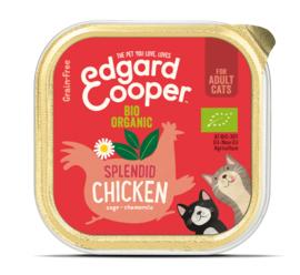 Edgard & Cooper Kat Biologische Kip kuipjes