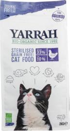 Yarrah sterilised graanvrij voor de kat