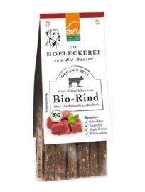 Defu Hondensnack - Stängelchen Bio-Rind - Stengels Gerookt Rundvlees