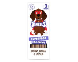 Denzel's Chews Superfoods - Banaan, Bes & Zalm