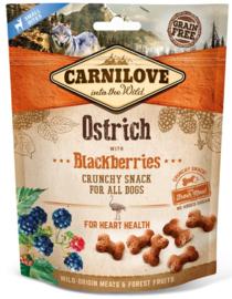 Carnilove hondensnacks Crunchy - Struisvogel