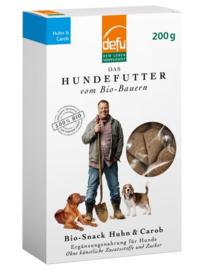 Defu Bio Hondensnack Huhn & Carob - Kip & Carob