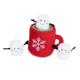 Zippypaws Burrow Holiday Hot Cocoa