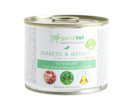 OrganicVet Veterinary Diabetic and Weight - kat
