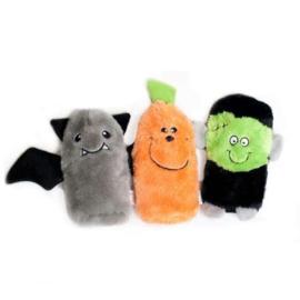 ZippyPaws Squeakie Buddy - Halloween 3-pack