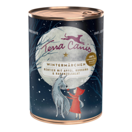Terra Canis kerstmenu - rendier met pompoen