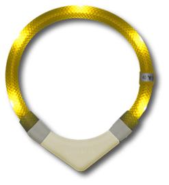 Leuchtie PLUS lichthalsband Geel