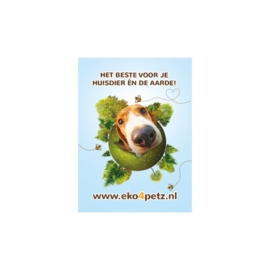 EKO4petz sticker hond
