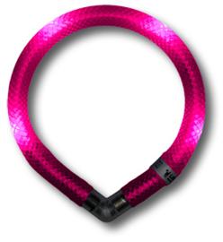 Leuchtie Mini lichthalsband Hot Pink