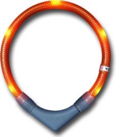 Leuchtie PLUS lichthalsband Oranje