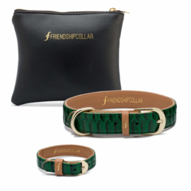 Friendshipcollar The Boutique Collection Emerald Green